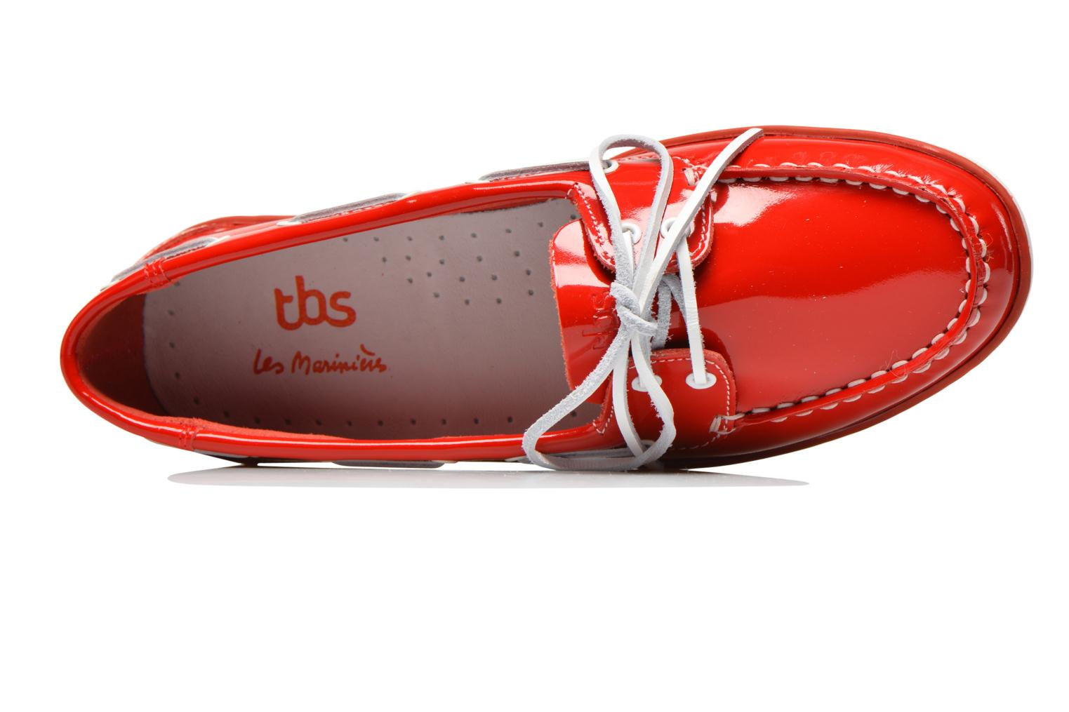Veterschoenen TBS Clamer Rood links